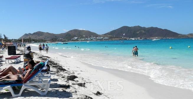 Оrient bay, St. Maarten