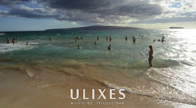 Little beach,Нудистский пляж, Мау, Гаваи