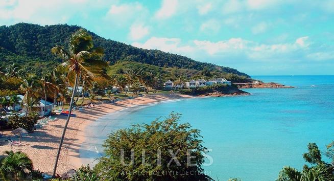 Antigua Hawksbill Bay
